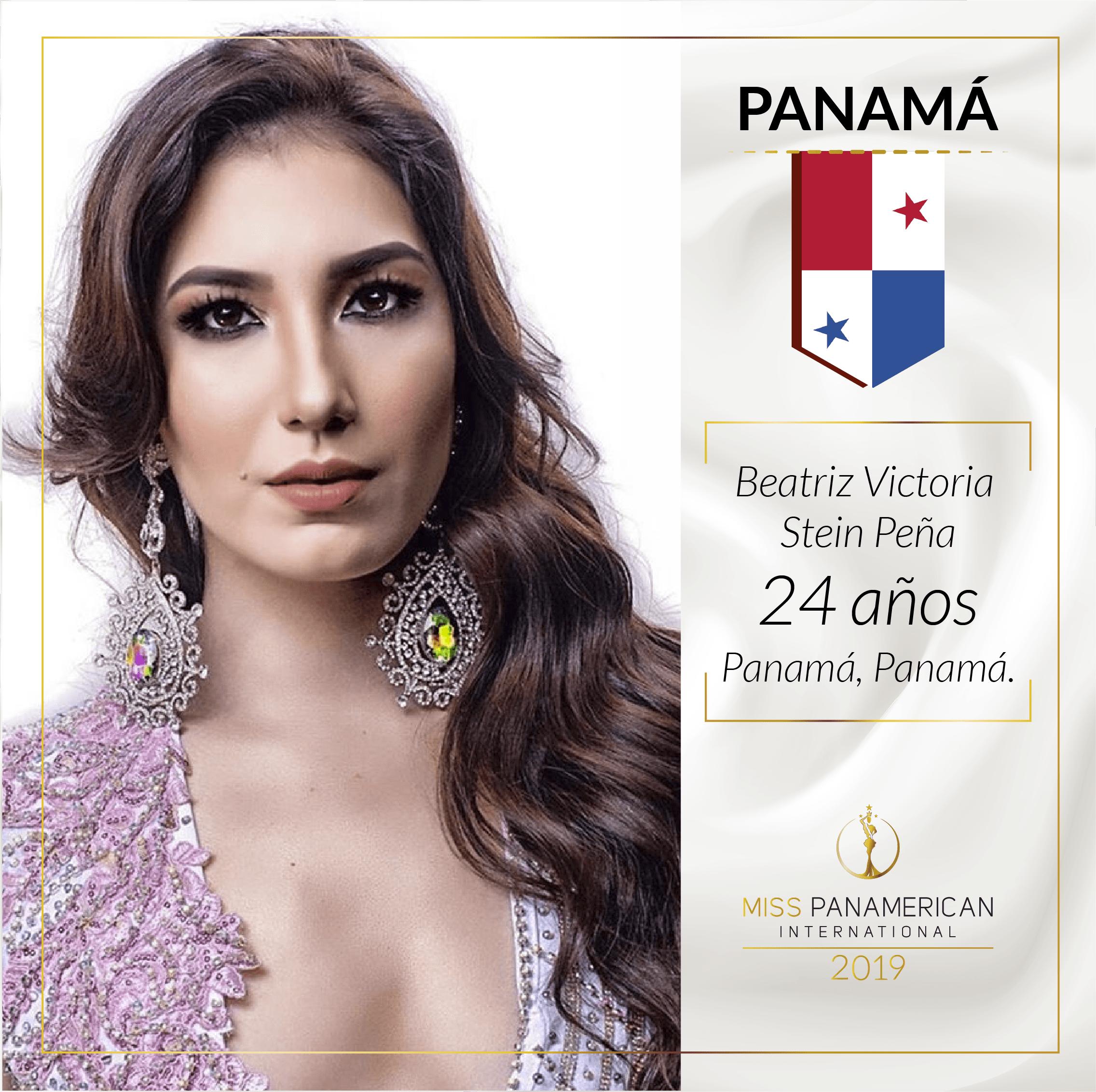 candidatas a miss panamerican international 2019. final: 2 nov. sede: guadalajara. 49p9rz27