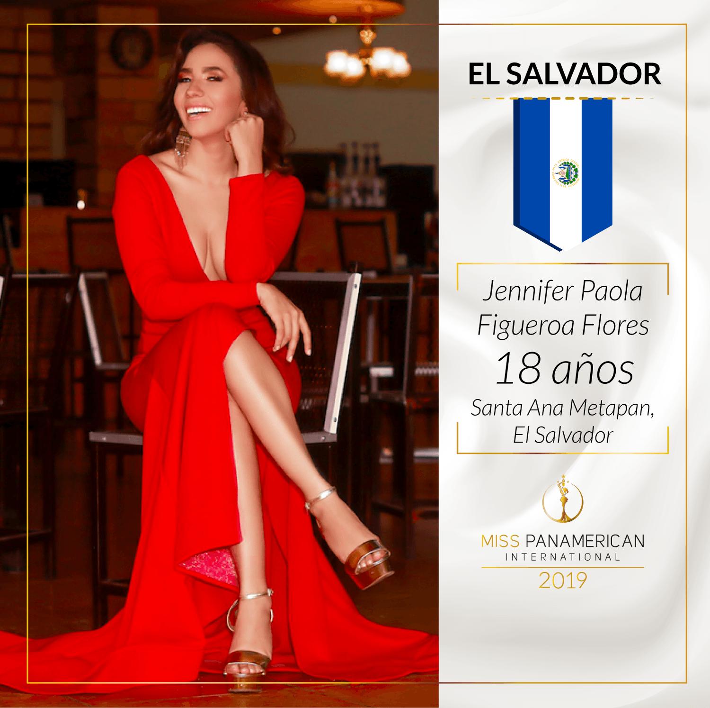 candidatas a miss panamerican international 2019. final: 2 nov. sede: guadalajara. 64b58uqf