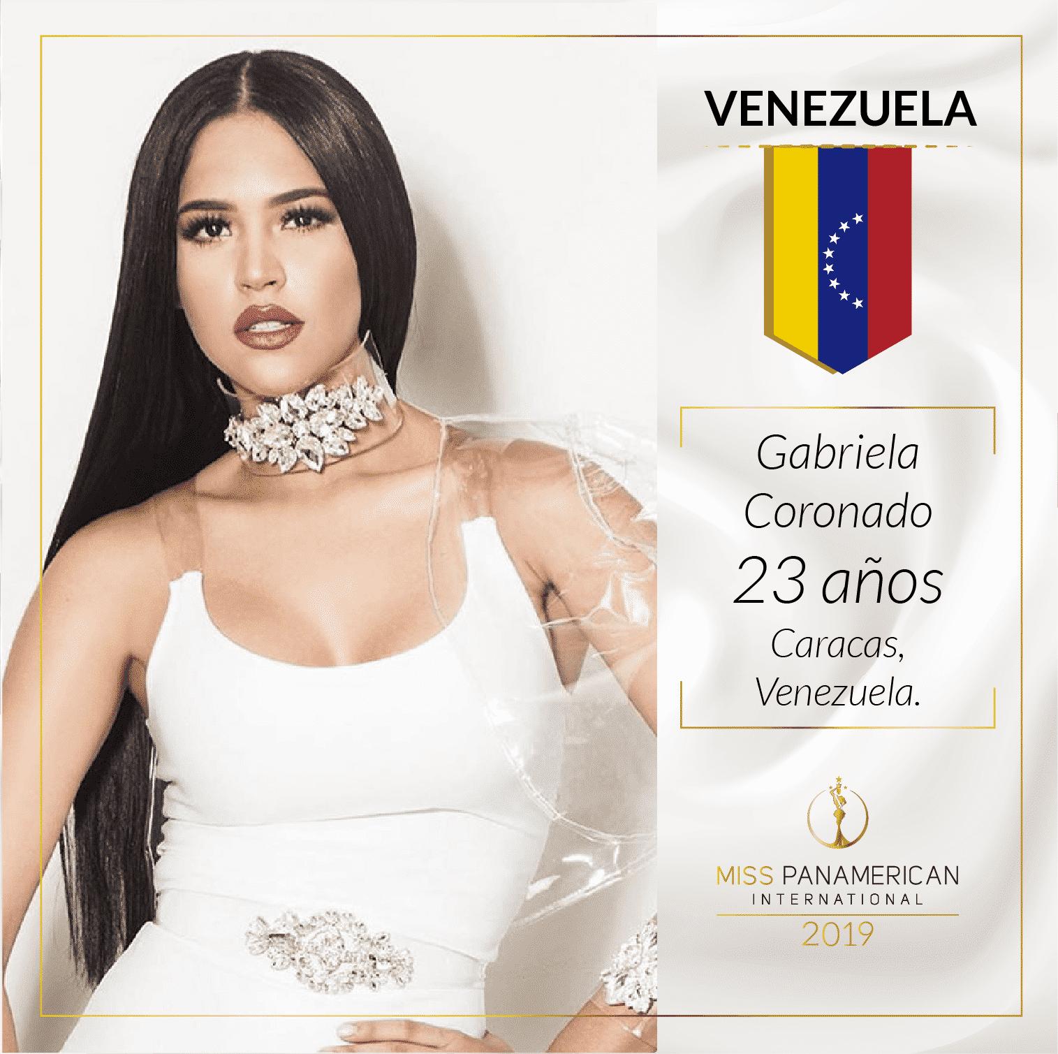 candidatas a miss panamerican international 2019. final: 2 nov. sede: guadalajara. 7pyb3tg5