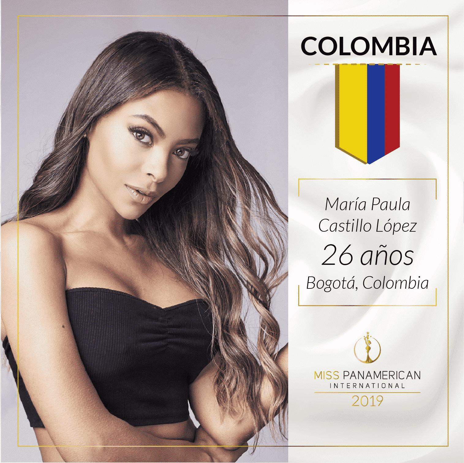 candidatas a miss panamerican international 2019. final: 2 nov. sede: guadalajara. Jxpa5taa