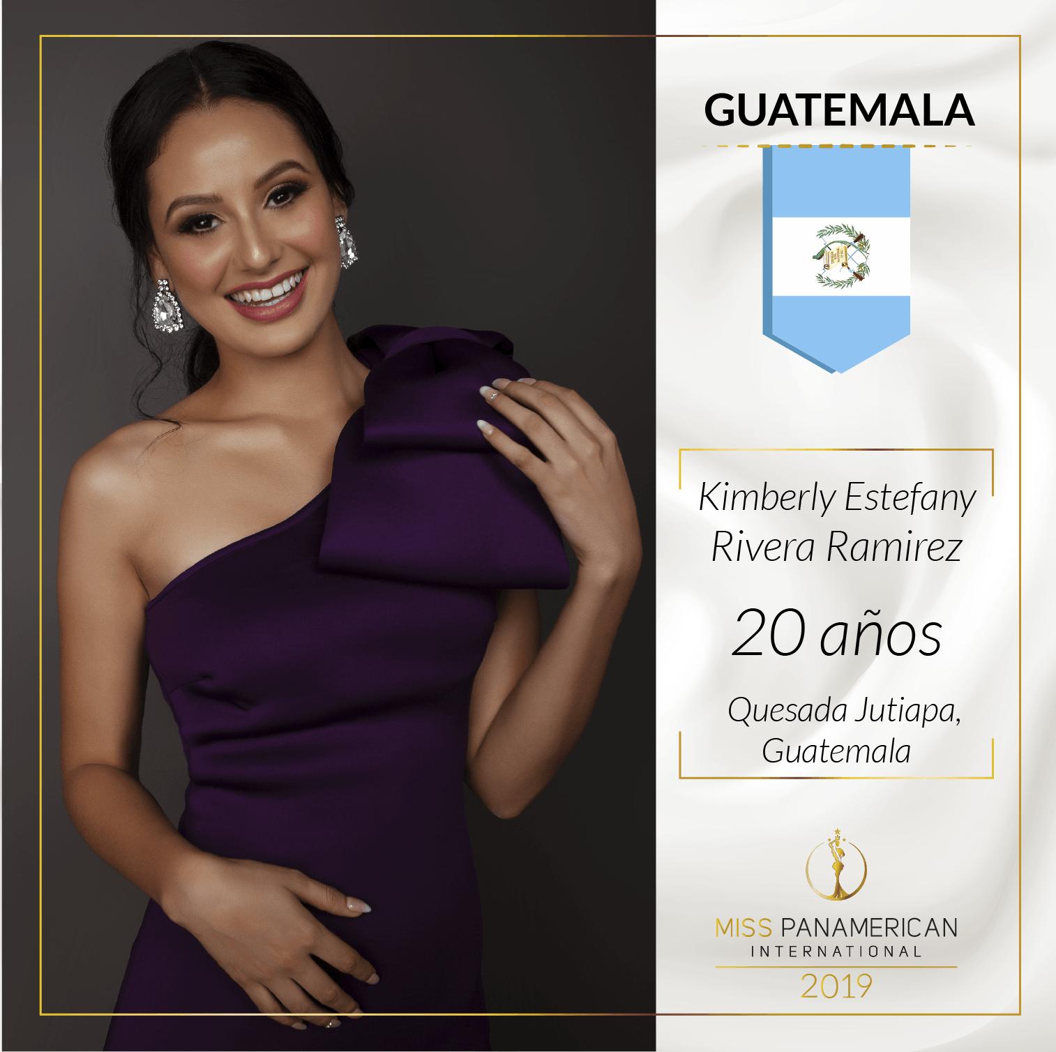 candidatas a miss panamerican international 2019. final: 2 nov. sede: guadalajara. Kt3d6f2l