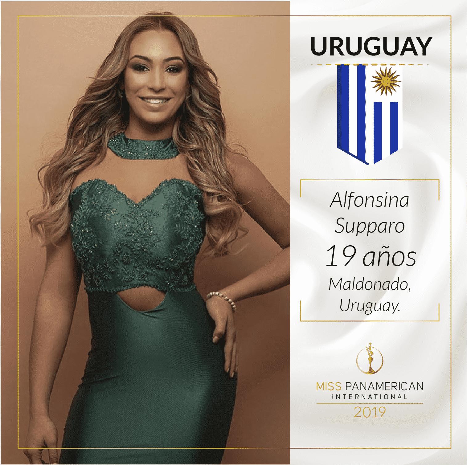 candidatas a miss panamerican international 2019. final: 2 nov. sede: guadalajara. X3rxbvqz