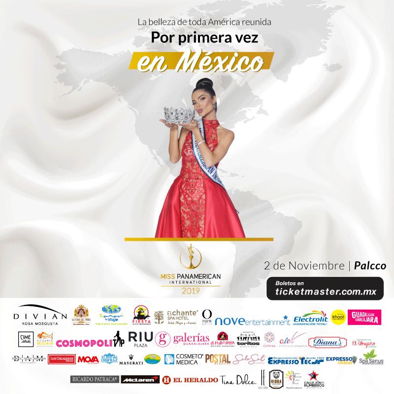 candidatas a miss panamerican international 2019. final: 2 nov. sede: guadalajara. - Página 2 Gn3ppbyf