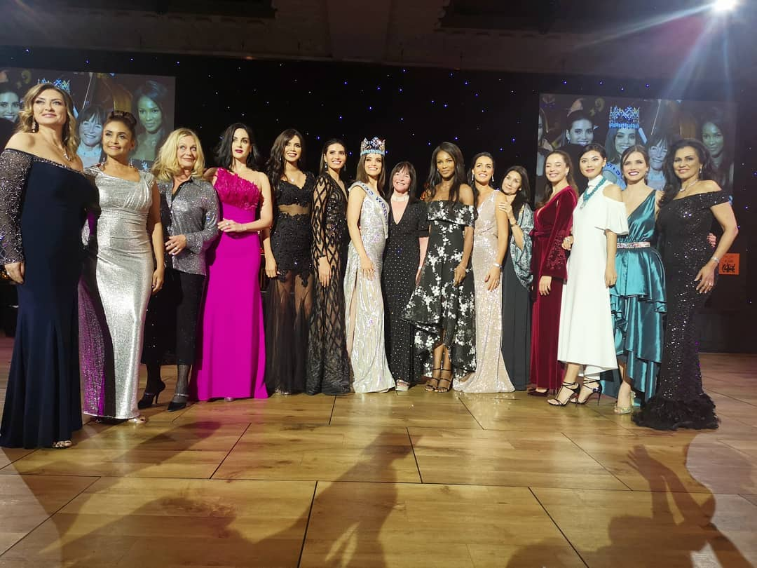 14 vencedoras de miss world durante 80th birthday de julia morley. Jlzqbjfn