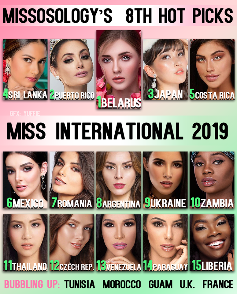 8th hot picks de miss international 2019. Q5m2fe62