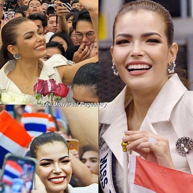 miss universe thailand 2019 de camino atlanta. Eur4l3wo
