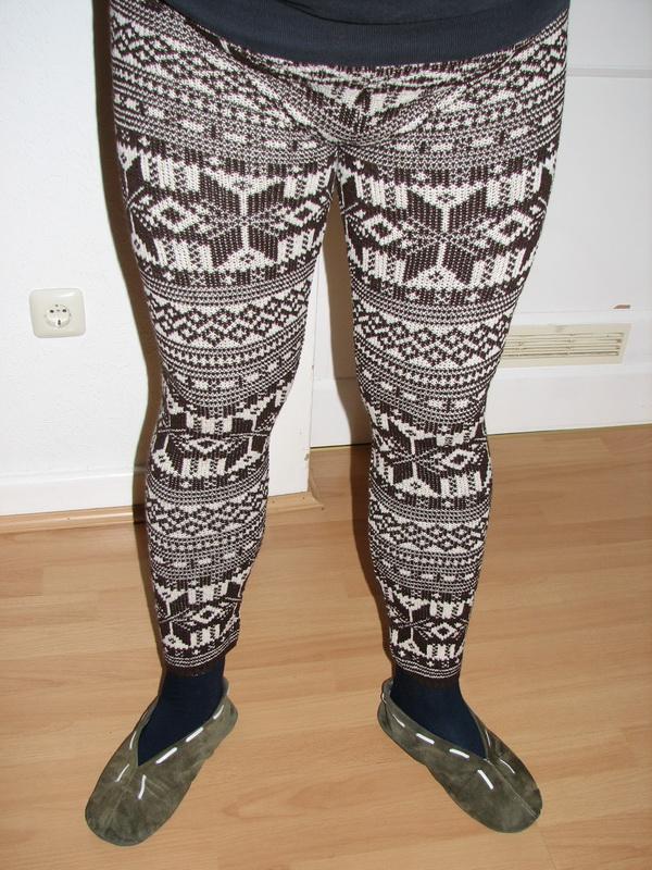 Re: Norweger-Strick-Legging - Forum für Strickstrumpfhosen