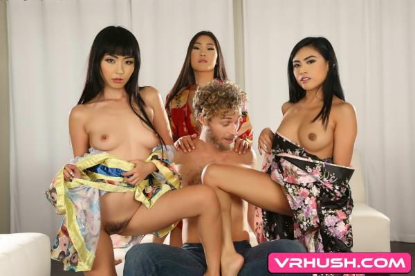 Marica Hase, Ember Snow, Katana - A Bachelor Party Orgy to Remember (2019/UltraHD 4K)
