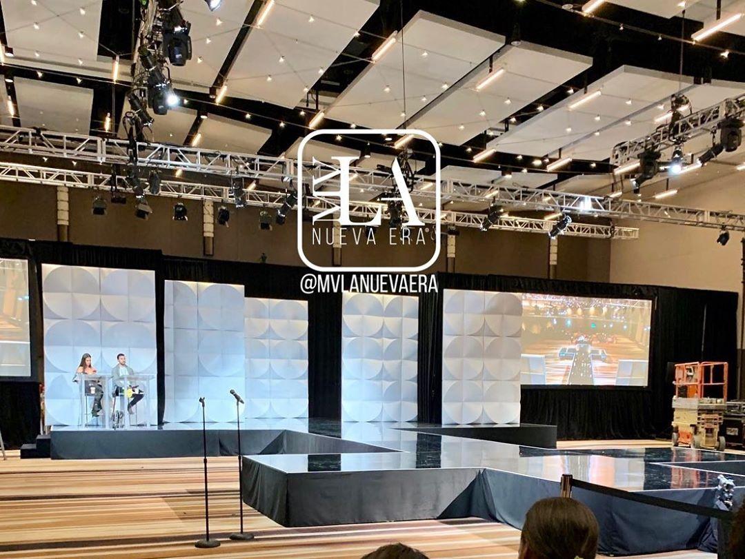 stage para preliminar de miss universe 2019. Smignqdn