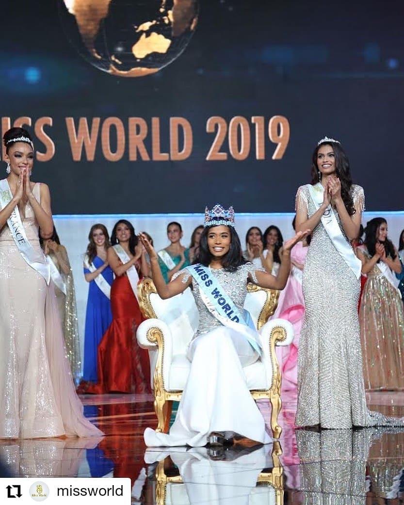 jamaica vence miss world 2019. Fdbwkaf6