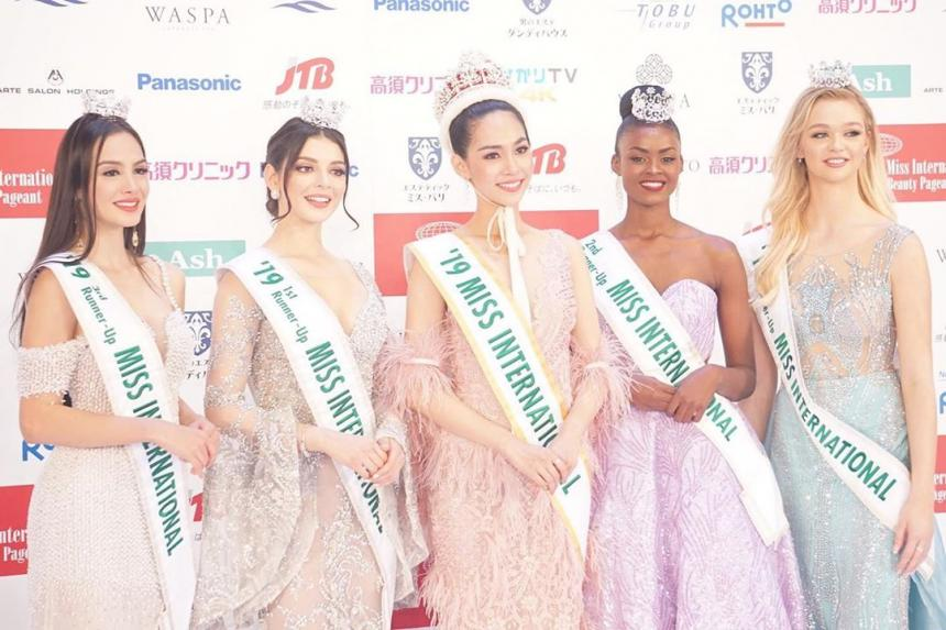 top 5: miss universe, miss world, miss international, miss supranational, miss grand international 2019. 4ctq7uqi