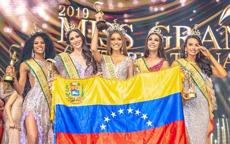top 5: miss universe, miss world, miss international, miss supranational, miss grand international 2019. Da2luegy