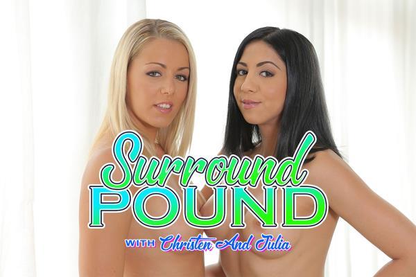 Christen Courtney, Julia De Lucia - Surround Pound with Christen and Julia (2019/UltraHD 4K)