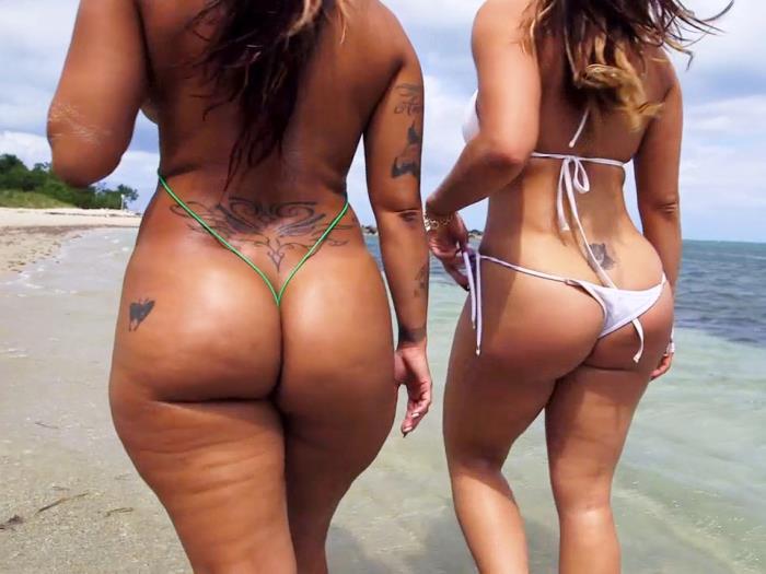 AssParade/BangBros: Asstastic Day At the Beach - Spicy J, Miss Raquel [2019] (FullHD 1080p)