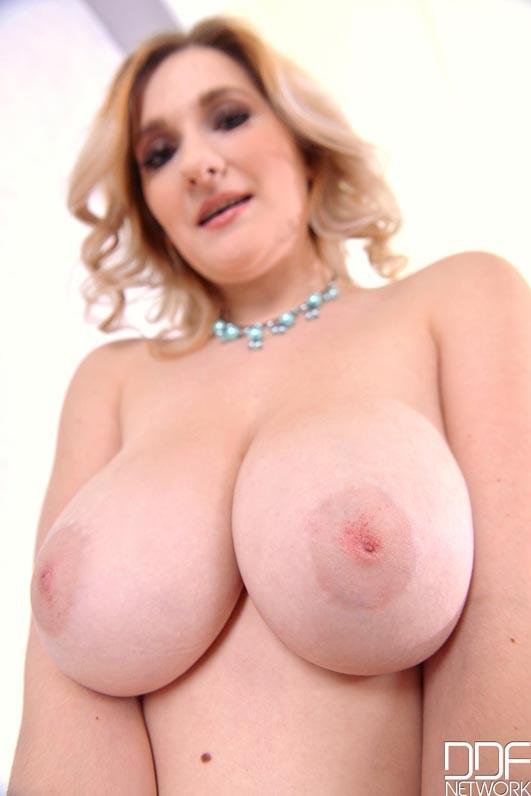 Beautiful Pastel - Sexy Blonde With Big Natural Tits Enjoys Dildo