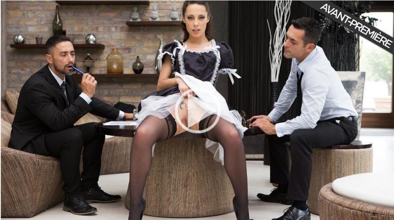Nikita Bellucci - Maid Nikita gets fucked by 3 men