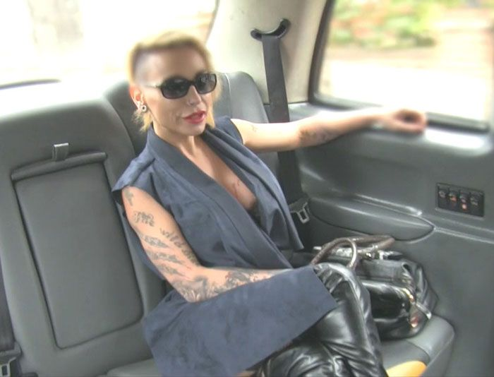 FakeTaxi: (Gina) - Petite Lady in Sexy Lingerie [HD / 531 MB]