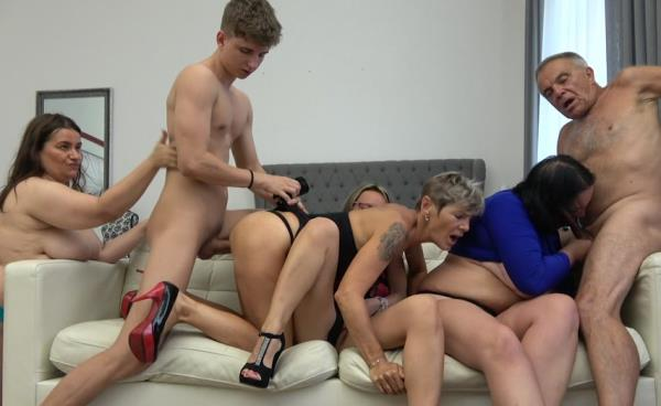 UNKNOWN - A Sunday Orgy With Grandpa And Grandson [FullHD 1080p] 2019