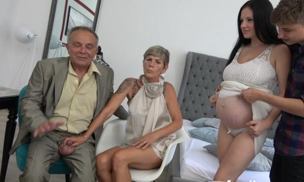 UNKNOWN - Grandpa And Pregnant Maid [FullHD 1080p] 2019