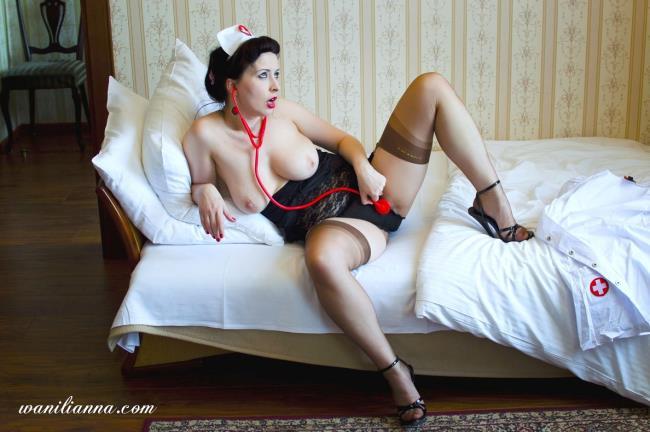 Wanilianna, Nikita - Hello nurse, I feel horny!: 1.11 GB: FullHD 1080p - [Wanilianna.com]