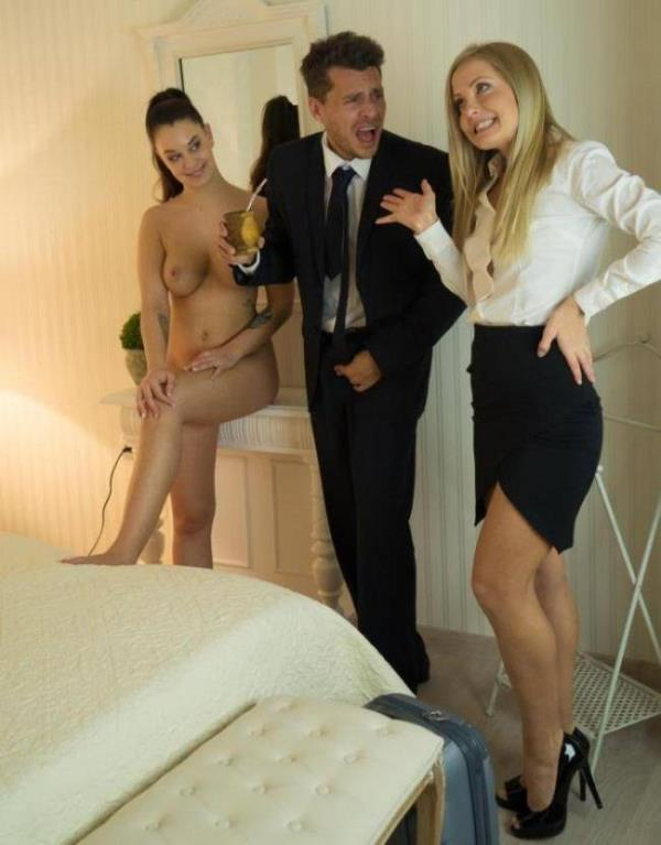 LosConsoladores/PornDoePremium: Sicilia, Angelina Brill - Sicilia and Angelina Brill in Spanish threesome with Andy Stone (FullHD) - 2019