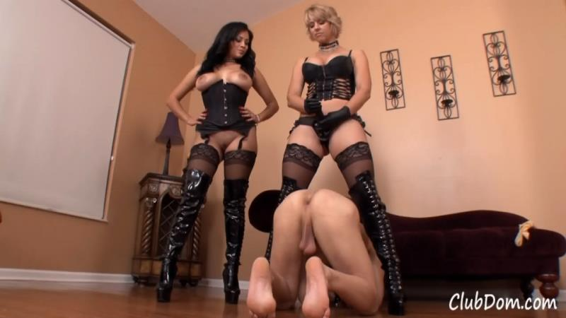 Brianna Beach, Jamie Valentine - Fucking For Our Pleasure [ClubDom] (HD|WMV|192 MB|2019)