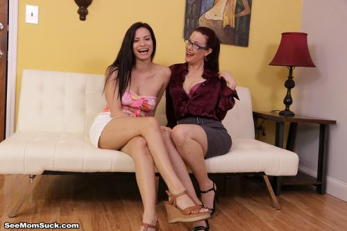 Alexis Deen And Jasmine Coxx - Blowjob Lesson By Mrs Coxx (2020/HD)
