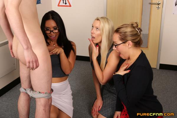 PureCFNM: Ashley Rider, Hannah Shaw, Taylor Shay - Driving Test (FullHD) - 2019