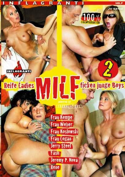 MILF 2 Reife Ladies Ficken Junge Boys Cover