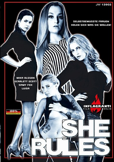 She Rules Cover