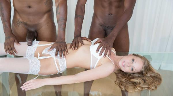 Blacked: Shawna Lenee - Blonde Personal Assistant Loves Black Men (FullHD) - 2020