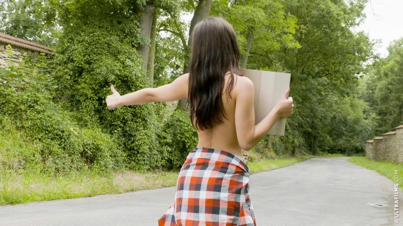 Kristy Black - The Hottest Hitchhiking [UltraFilms] 2020