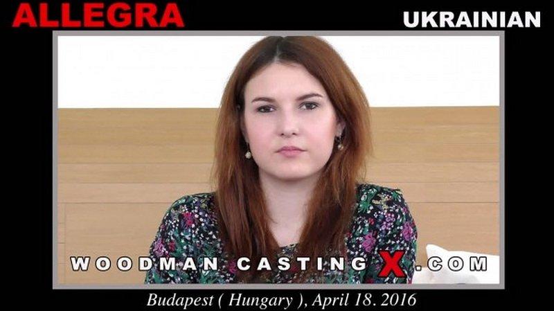 Allegra - Casting (WoodmanCastingX) FullHD 1080p