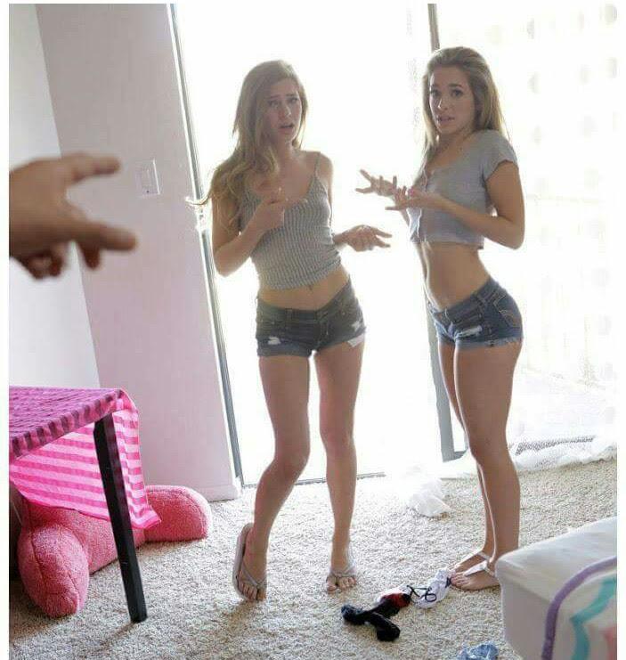 Sydney Cole, Kimmy Granger - Teen Babysitter Caught With Her Friend [Vixen] 2020