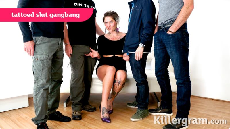 [UkRealitySwingers/Killergram] - Tallulah Thorn - Tattooed Slut Gangbang (2020 / HD 720p)