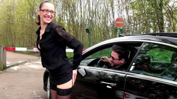 Audrey - Tapiner au Bois de Boulogne... fantasme inavouable! [FullHD 1080p] 2019