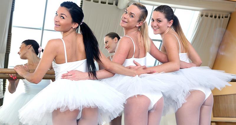 ClubSevenTeen: Keira, Valerie Fox, Vinna Reed - Naughty Ballerina Plan (2020) 720p WebRip