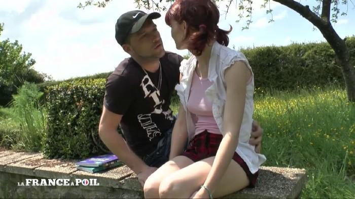 LaFRANCEaPoil: Lisa - Lisa, Etudiante rousse au petit cul rose, initiEe A la baise en plein air! (2020) 720p WebRip