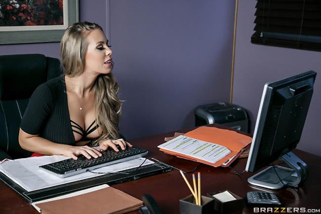 Nicole Aniston - A Union Nutbuster: 496 MB: SD 480p - [BigTitsAtWork.com/Brazzers.com]