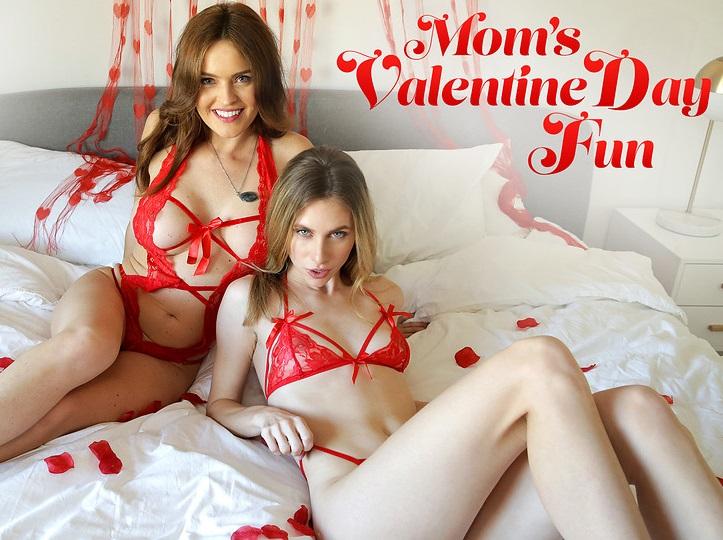 Anya Olsen and Krissy Lynn Valentines Day Sex Gift