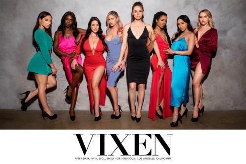 Tori Black, Mia Malkova, Vicki Chase, Kira Noir, Ana Foxxx, Abella Danger, Jessa Rhodes, Angela White - After Dark Part 5 (2020/HD)