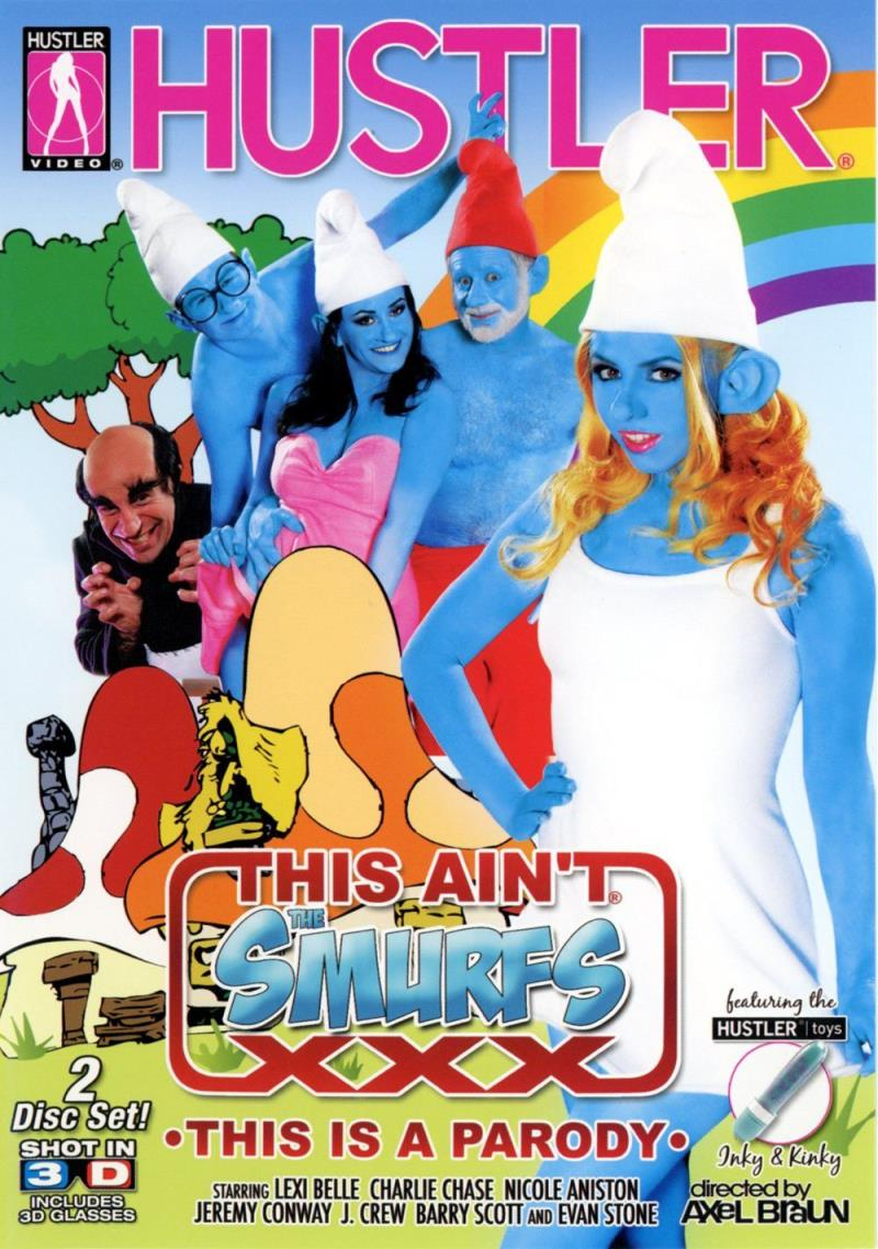 Charley Chase, Nicole Aniston, Evan Stone, Lexi Belle, Barry Scott, Jeremy Conway, J Crew. - This Aint Smurfs XXX 3D (Hustler) [FullHD 1080p]