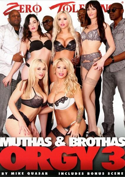 Muthas & Bruthas (Brothas) Orgy 3 [HD 720p]