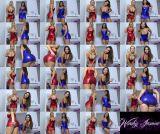 Goddess Jasmine, Princess Electra Morgan (Double Shiny Fuckery) (mp4, HD, Masturbation)