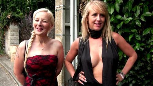 Mathilde et Candys - Deux blondes pour une orgie! (FullHD)