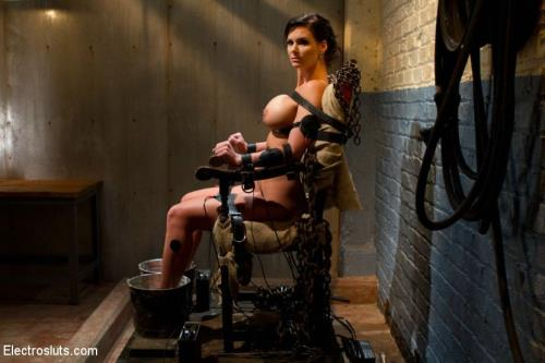 Bobbi Starr, Phoenix Marie - Phoenix Marie Suffers to an Electric Chair (HD)