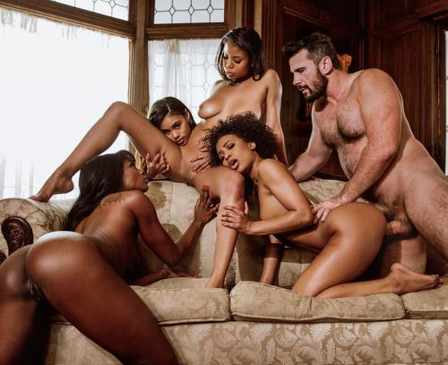 Nia Nacci, Demi Sutra, Ana Foxxx, Scarlit Scandal- Taste