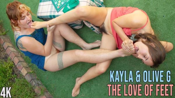 GirlsOutWest: Kayla Rain, Olive G. - The Love of Feet (FullHD) - 2020