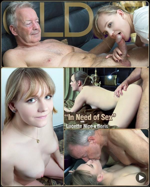 Lucette Nice in Need of Sex - Lucette Nice [Oldje/ClassMedia] (FullHD 1080p)