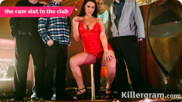 The Cum Slut In The Club - Candi Kayne [KillerGram] (HD 720p)